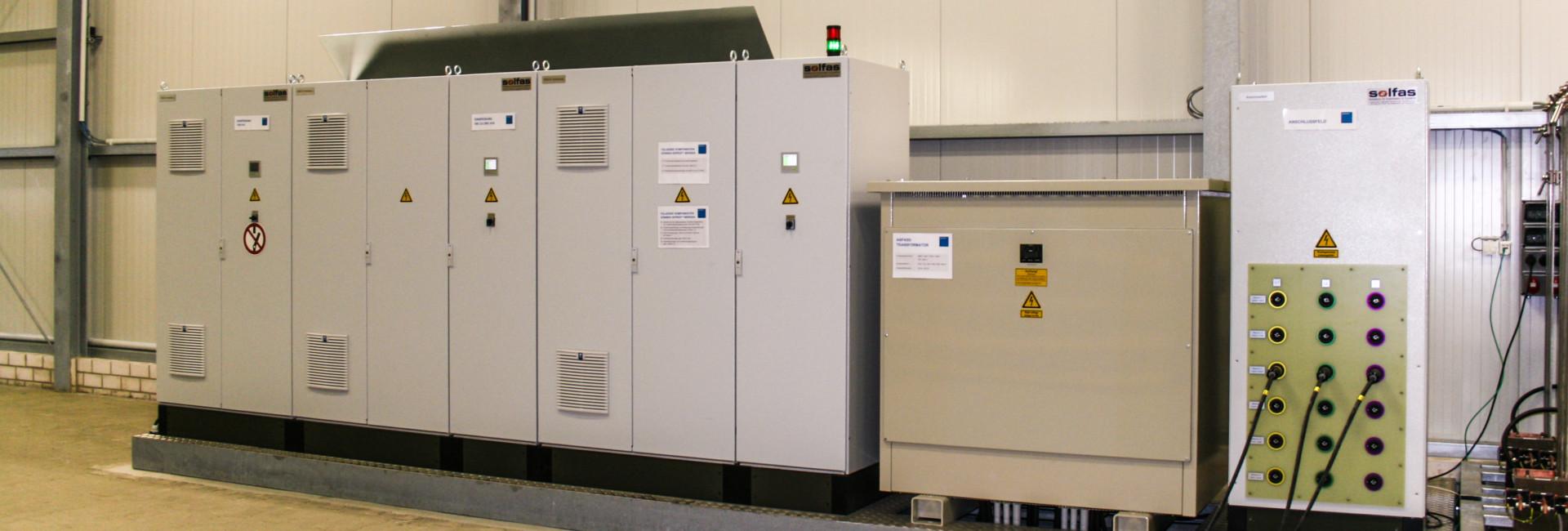 Medium Voltage Tester : Medium voltage transformer substation testing solfas
